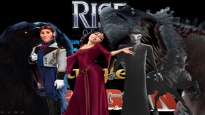 Rise of the Frosen Brave Tangled Dragons Nightmare by Daughterofthehunt10