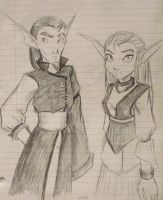 Gol and Maia- beforehand. by Demyrie