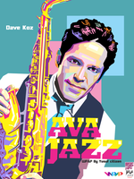 DAVE KOZ on WPAP by Yusuf-Graphicoholic