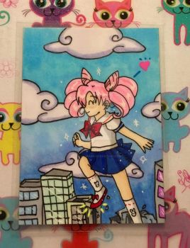 ATC Gift: Chibiusa Destroys the City by Magical-Mama