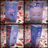 MLP-Trixie Cereal Papercraft by KrazyKari