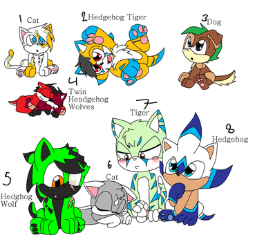 Baby Sonic Adopts -Closed- by Team-RazorBlade