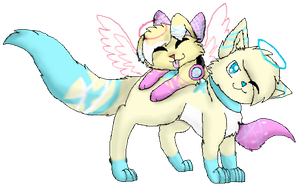 [AT] Brother, and Sister by SkylerCakes