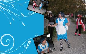 Ciel in Wonderland - WALLPAPER by Nekucosplay
