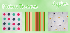 Modern Textures by ohgalore