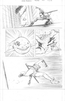ROULETTE Page 5 (pencils) by JZINGERMAN