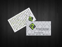 My bussines card by ppx4