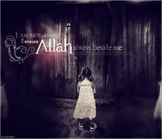 Allah always beside me .. by Menami