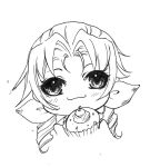 Lineart For Share - 12 Final Fantasy Aerith Sweet by TashaChan