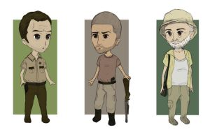 The Walking Dead Chibi Part 1 by N1mh
