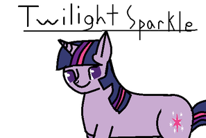 Twilight Sparkle by waggytail823