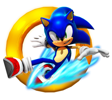 Sonic Runners Adventure Pose by BlueParadoxYT