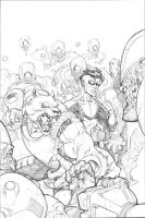 Invincible 57 splash by RyanOttley
