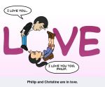 Philip and Christine: Love by thephilipvictor