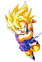 Son Goku GT SSJ by Ninja-pineapple