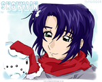 Athrun Zala's Snowman by Prince-in-Disguise