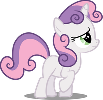 Vector #56 - Sweetie Belle by DashieSparkle