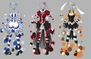 Outfit Adoptable Batch 3 [CLOSED] by Artemis-adopties