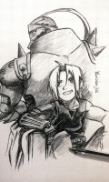 Alphonse and Edward from FMA by Musiriam