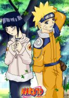 Naruto and Hinata all the way by wingheart