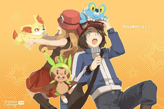 Pokemon XY!! by finni
