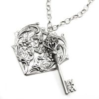 The Key to My Heart by GhostLoveJewelry