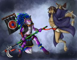Phantom and Raul (by Starvinartmajor) by Eric4372