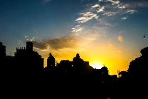 Roma Sunset by WeaselTea