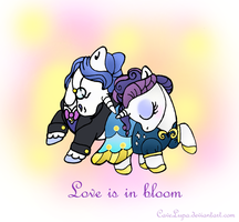 Love is in bloom by CaveLupa