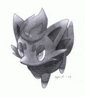 Zorua (Pokemon) by MarkusBogner