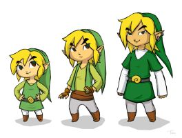 Age Chart: Link by BeagleTsuin