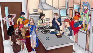 House Party: Cooking by Thrythlind