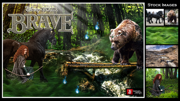 The Making: Brave 2012 by teMan