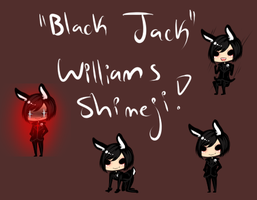 Black Jack Williams Shimeji by AishaxNekox