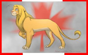 canada-lion by AnimeLionessMika