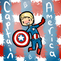 Captain America by DuskofGold5