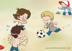 Cascarita by KamiDiox