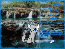 .:Azurepaw of StreamClan:. by MizalAlexiee
