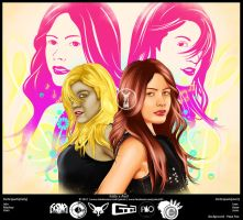 Kelly x Avril [Collaboration W/ Mama Maw] by Phao02