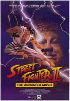 Street Fighter II The Animated Movie Poster by AVGNJr1985