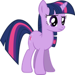 Twilight being Skeptical by RedPandaPony
