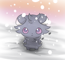 Diamond dust Espurr by MeowNi