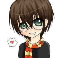 chibi harry by Koike-sama