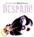 Black Bunny of Despair by Gib-Pinups-And-Toons