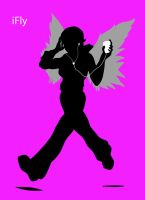 iFly - iPod Poster by Kinie