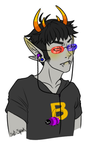 Sollux Bust by sgt-spank