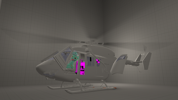 WIP Helicopter for SFM (BK117) by JDash42