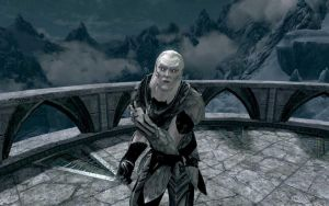 DAWNGUARD- Arch-Curate Vyrthur by vincent-is-mine
