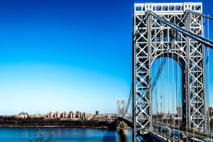 GW Bridge HDR  by Pawsofsteel