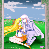 Sailor Venus And Kunzite by StarMVenus